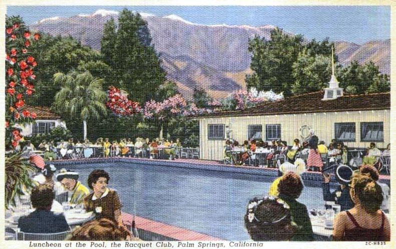 Vintage postcard circa 1955