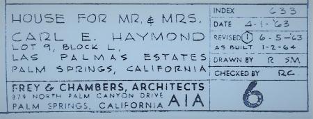 Haymond Residence