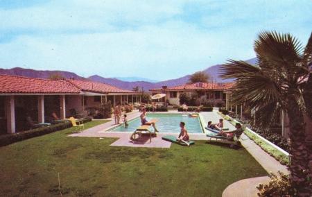 Vintage postcard circa 1951