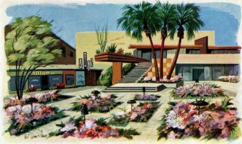 An entertaining film chronicling the fascinating story of the Palm Springs Preservation Foundation's advocacy efforts to save the historic Town & Country Center. (15 min.) Coming February 1, 2021